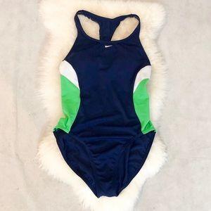 Nike Swim - Nike Racerback One Piece Swimsuit